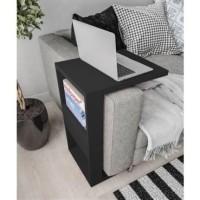Meja Sofa E / Arm Rest Sofa Table / Laptop / Majalah / Kerja / Tray