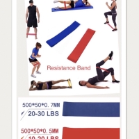 PANACHE Elastic Resistance Band for Fitness Gym Yoga Hip Body Building