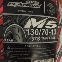 Ban Luar Belakang NMAX Corsa Platinum M5 130/70-13 Tubeless