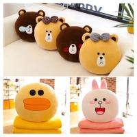 Boneka bantal selimut, BALMUT Rillakuma, Beruang, Teddy bear & friends