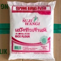 Tepung beras putih cap suji wangi 500 Gram