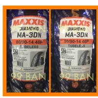 MAXXIS 3D : 80/90-14 dan 90/90-14 (SEPASANG), Ban motor matic ring 14
