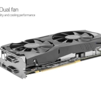 Galax Geforce GTX 1060 EXOC 6GB DDR5 White
