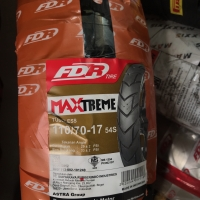 FDR 110/70-17 MAXTREME TUBELES BAN MOTOR VELG RING 17