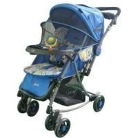 Stroller Pliko Paris 399 RD Warna Biru