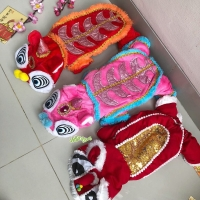 Dog costume Barongsai baju anjing kucing imlek