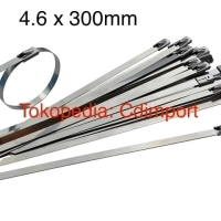Stainless Cable Ties - Kabel Tis Stainless 4.6 x 300 mm 30 cm