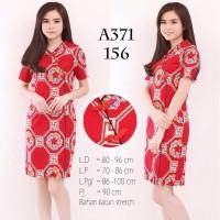 Dress Cheongsam Batik Imlek Baju Wanita Best Seller Chinese Shirt 1533