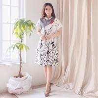 Cheongsam Dress Baju Wanita Imlek Chinese New Year Shirt 1576