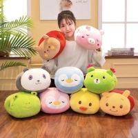Boneka Bantal Penghangat Tangan Karakter Hewan Lucu winnie Panda dll