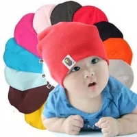 Topi Kupluk Bayi / Topi Anak / Baby Hat / Topi Kupluk - Ungu