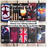Softcase man case xiaomi redmi 6A avengers captain superheroes iron