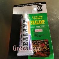 Lem Kaca Silikon Sealant Silicone / Aquarium Tube Odol