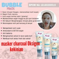 Bubble mask charcoal oksigen cmb Arasta