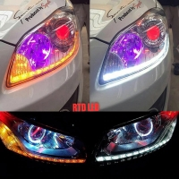 Drl Led Crystal A5 Lampu Drl Meteor Led A5 Following Sein 2 Pcs R071