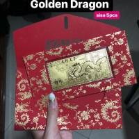 Angpao Emas / Gold 24 Karat Naga / Golden Dragon 1 Gram