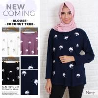 Kaos blus cewe gendut big size kekinian termurah fashion muslim coconu