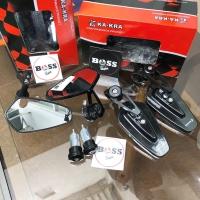 Spion Bar End Arrow CRG Flat Universal Vespa Sprint Primavera GTS S LX
