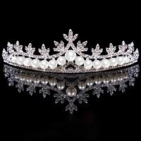 Mahkota tiara pengantin mutiara
