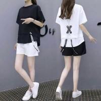 Blouse Baju Atasan Kemeja Wanita Korea Style Kaos Shirt - 0471 EXS