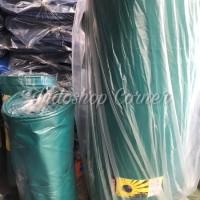 Terpal karet PVC Korea super tebal ukuran 6 x 8 meter