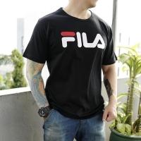Baju Kaos T shirt Fila Unisex Cowo dan Cewe JUMBO BIGSIZE XL XXL