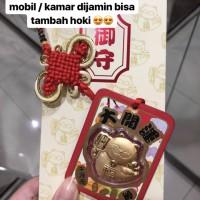 Angpao Emas / Gold 24 Karat Gantungan Lucky Cat Gold
