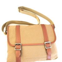 Tas selempang kanvas / sling bag / organizer travel import