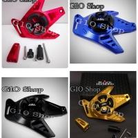 Cover Egine CVT Yamaha Nmax Black Diamond / Aksesoris Murah