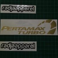 Sticker Stiker Cutting Pertamax Turbo ukuran 15cm