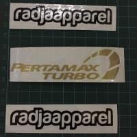 Sticker Stiker Cutting Pertamax Turbo ukuran 10cm