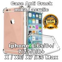 Case anti crack / anti shock iphone Xs max / X max mika anticrack