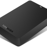 Hardisk Toshiba 2 TB Canvio Basic / Hardisk External Toshiba 2 TB