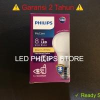 Lampu Bohlam LED Philips 9 Watt Kuning/Warm White (9W 9 W 9Watt)