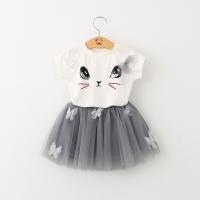 Setelan baju import rok tutu 1-6thn / baju anak perempuan import