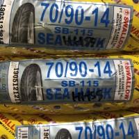 BAN LUAR TUBETYPE SWALLOW 70/90-14 MATIC BEAT VARIO MIO XEON SCOOPY
