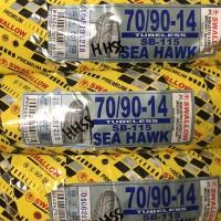 BAN LUAR TUBELESS SWALLOW 70/90-14 MATIC MIO XEON MIO SOUL BEAT VARIO