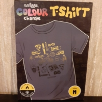 Smiggle Colour T-shirt Change Original. Kaos anak laki perempuan