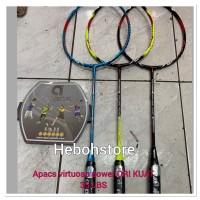 Raket Badminton APACS VIRTUOSO POWER BISA 35 LBS FREE GRIP