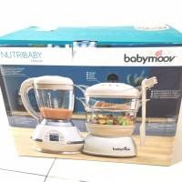 Babymoov Nutribaby Classic Multifunction Baby Food Processor, Steamer