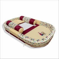 Kasur bayi kolam bemper dengan kelambu bantal set cintaka sailor serie
