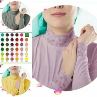 Manset Baju Atasan/Dalaman Wanita Renda Bahan Kaos Premium