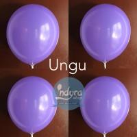 Balon doff ungu / Balon Latex Ungu / Balon Lateks Ungu / Balon Ultah