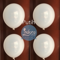 Balon doff Putih / Balon Latex Putih / Balon Lateks Putih