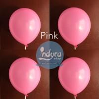 Balon doff Pink / Balon Latex Pink / Balon Lateks Pink / Balon Ultah