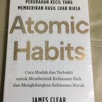 Buku Atomic Habit edisi bahasa Indonesia