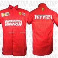 Baju Kemeja Pria F1 Ferrari 2019 Kode CKD016
