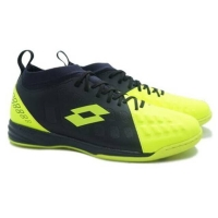 Sepatu futsal Lotto energia in hijau hitam