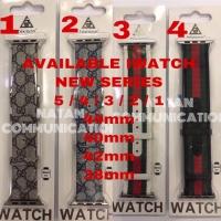 STRAP IWATCH GUCCI SERIES 5 4 3 2 1 APPLE WATCH seri 5 TALI JAM APPLE
