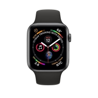 Jam Tangan Apple Watch Series4 GPS 44mm Space Grey Alum with Black